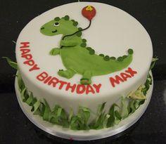 dinosaur cake by www.fortheloveofcake.ca, via Flickr
