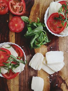 Caprese Salad | Purple Plum Catering