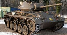 Tank Profile: M24 Chaffee, The Light Tank From WWII That Is Still In Service Today!