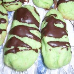 Pistachio Cream Cheese Fingers Allrecipes.com