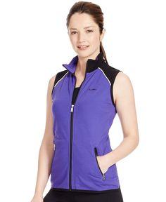 Lauren Ralph Lauren Colorblocked Zip-Front Vest