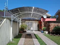 Pergola Kits Attached To House Pergola Carport, Patio Gazebo, Pergola Shade, Patio Roof, Diy Pergola, Backyard, Carport Canopy, Carport Designs, Pergola Designs
