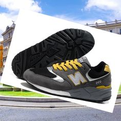 New Balance 999 men's shoes gray/black/Gituttio for cheap Buy Online HOT SALE! HOT PRICE!