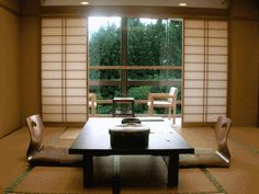 Japanese living room design 3/6