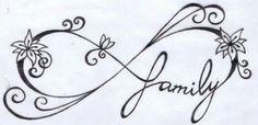 Ιnfinity Symbol Stencil - Ιnfinity Symbol Free Tattoo Stencil - Free Ιnfinity Symbol Tattoo Designs For Women - Customized Free Ιnfinity Symbol Tattoos - Free Ιnfinity Symbol Printable Tattoo Stencils - Free Ιnfinity Symbol Printable Tattoo Designs Infinity Tattoo Family, Infinity Tattoo Designs, Family Tattoo Designs, Sister Infinity, Infinity Symbol, Infinity Wrist Tattoos, Mother Daughter Infinity Tattoos, Symbol Tattoos, Body Art Tattoos