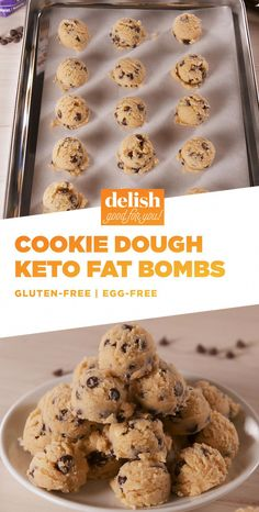 Searching for keto recipes? The BEST keto recipes that can be made in 5 minutes or less. You don't want to skip these. Keto Cookies, Chip Cookies, Keto Fat, Low Carb Keto, Chocolate Low Carb, Chocolate Chips, Keto Regime, Dessert Mousse, Starting Keto Diet