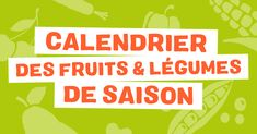 Calendrier des Fruits et légumes de saison - Greenpeace France Manger Healthy, Bios, Celerie Rave, Cooking Recipes, Easy Recipes, Easy Meals, Fun, Easy Keto Recipes, Easy Food Recipes