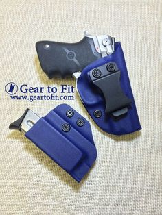 Police Blue Kydex - be ready with Gear to Fit your gear. Inside The Waistband Holster, Kydex Holster, Tactical Gear, Card Case, Knives, Gears, Police, Wallet, Fit