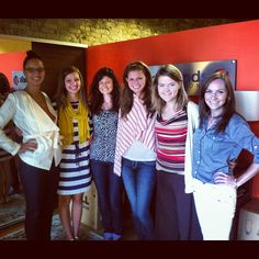 Summer 2012 interns: Annie, Colleen, Katie, Christine, Trisha, Shannon