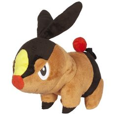 Pokemon Black And White Plush By Jakks  Reversible Pokeball Series 1  TepigPokabu ** Read more reviews of the product by visiting the link on the image.