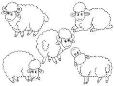 70% OFF SALE Sheep Clipart - Digital Vector Farm, Animal, Lamb, Baby Lamb, Farm Animal, Sheep Clip Art