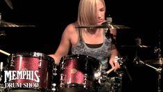 Hannah Ford Drum Solo at Memphis Drum Shop