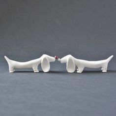 DIY Dachshund Knife Holder clay tute, love it: thanks so for share ox