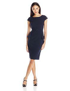 My Michelle Junior's Button Tab Short Sleeve Peplum Dress with Belt and Mesh Insert, Navy, 5 My Michelle http://www.amazon.com/dp/B00SMYYZXE/ref=cm_sw_r_pi_dp_FZ8qvb18KHE54