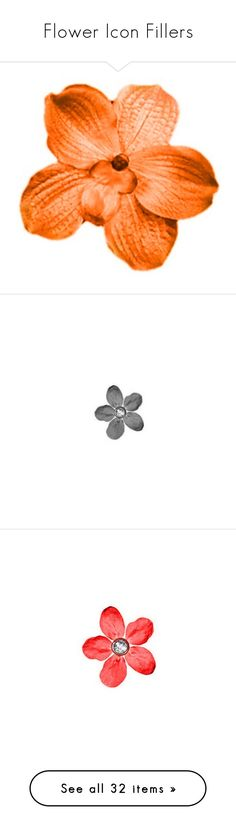"""""""Flower Icon Fillers"""" by beckahbear-1 on Polyvore featuring home, home decor, floral decor, flowers, flower fillers, icon flowers, fillers, fillers - flowers, flower home decor and flower stems"""