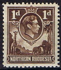 Northern Rhodesia 1938 Animals SG 27 Fine Mint SG 27 Scott 27 Other British Commonwealth Empire and Colonial stamps Here