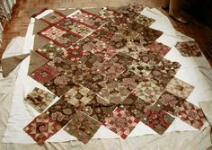 blended quilts | Blended Quilts After 4rd Session - Centers Are Done - Borders, Next!