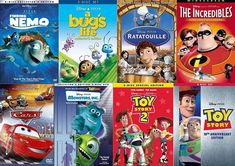 With dozens of animated and computer-generated family movies in their library, Pixar certainly takes the cake for kids' movies!
