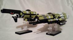 https://flic.kr/p/hYTeZv | Tlaybonic Cruisers Neera and Eleana | Eleana with twin Heavy Laser Cannons.