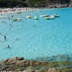 This is the #renabianca (#whitesand ) #beach in #santateresadigallura #sardinia #Italy .This time I didn't used any color effect because there is no need to alter such a #beauty . #sea #vacation #trip #tourist #travelling #travel #island #sand #travelgram #travl3r  #twitter