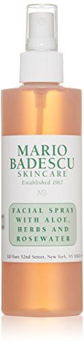 Mario Badescu Facial Spray with Aloe, Herbs and Rosewater, 8 oz. Facial Spray with Aloe Herbs & Rosewater - For. Best Facial Toner, Facial Cleanser, Water Spray For Face, Best Rose Water, Summer Skin, Luxury Beauty, Women's Beauty, Beauty Stuff, Rosehip Oil