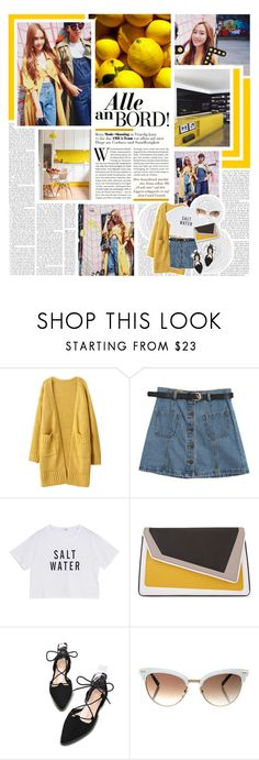 """""""LEXIE"""" by lovehelena ❤ liked on Polyvore featuring Chicnova Fashion, âme moi and Gucci"""