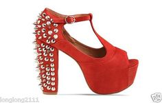 heels/spikes/red!!!!