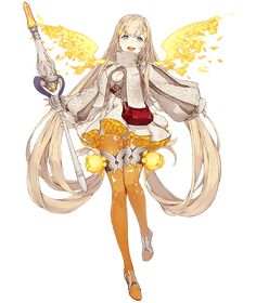 View an image titled 'Rapunzel, Cleric Job Art' in our SINoALICE art gallery featuring official character designs, concept art, and promo pictures. Female Character Design, Character Design References, Character Design Inspiration, Character Concept, Character Art, Girls Characters, Fantasy Characters, Female Characters, Anime Characters