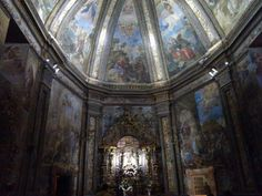 Frescos ermita de San saturio