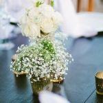 Adorable Wedding Table Flower Decoration