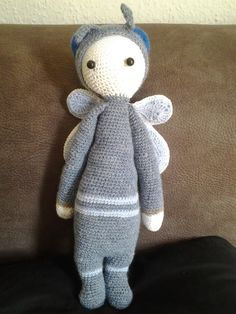 BUZZ the house fly made by Solle M. / crochet pattern by lalylala