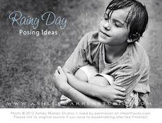 Photo Posing Ideas for Rainy Days via @iHeartFaces iheartfaces.com