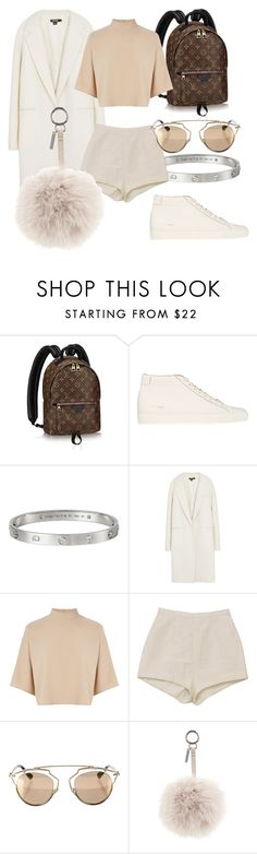 """""""#Look:#324"""" by dollarwomanlux ❤ liked on Polyvore featuring Common Projects, Cartier, DKNY, Warehouse, Christian Dior and Fendi"""