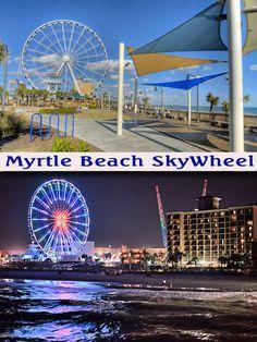 Myrtle Beach Skywheel..Chris and Ashley love this skywheel.