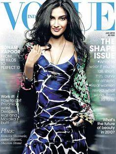 Sonam Kapoor on VOGUE