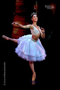 """Elisa Carrillo Cabrera (StaatsBallet Berlin), """"La Peri"""", choreography by Vladimir Malakhov, 2014 Kremlin Gala: The Ballet Stars of 21th Century (September 27, 2014) - Photographer Svetlana Postoenko"""