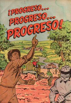 Interesantemente este cómic trata sobre el referéndum que se celebró en Puerto Rico el 10 de diciembre de 1961 para atender el asunto de la deuda pública y las obras de infraestructura. El resultado favorable del referéndum le dio la oportunidad a los futuros gobernantes endeudar al país. Todo el trabajo artístico fue realizado por Ismael Rodríguez Báez.