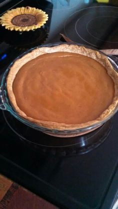 Fall Pumpkin pie. But i love it any time of the year.