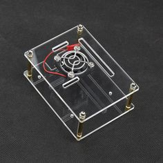2016 Raspberry Pi 3 Acrylic Case Clear Box Cover for Raspberry Pi 3 / 2 Model B New Design Style