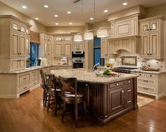 Best Off White Kitchen Cabinets With Antique Finish Home 400 x 300