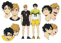 Haikyuu Karasuno, Haikyuu Ships, Haikyuu Fanart, Haikyuu Anime, Character Sheet, Character Design, Hinata, Manga, Tsukkiyama