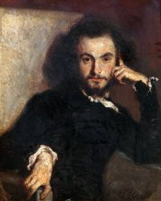 Retrato de Charles Baudelaire, de Émile Deroy (1844).