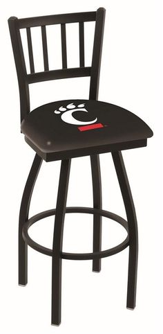 Cincinnati Bearcats Bar Stool with Swivel Seat