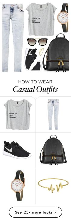 """Casual Style"" by jomashop on Polyvore featuring Marc by Marc Jacobs, Philipp Plein, NIKE, Prada and Bling Jewelry"