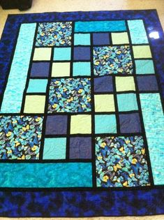 Quilting Ideas Projects Squares Ideas For 2019 Big Block Quilts, Modern Quilt Blocks, Lap Quilts, Panel Quilts, Small Quilts, Quilting Room, Machine Quilting, Quilting Projects, Quilting Ideas