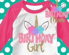 91319ccc0 Unicorn svg, Birthday girl svg, birthday mom svg, unicorn face svg, Birthday  girl svg, SVG, DXF, unicorn, girls svg, unicorn dxf, iron on