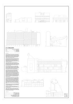 Le Corbusier's architecture on 180g matt white paper 30x42cm, including:1. OZENFANT STUDIO  2. TERNISIEN ATELLIER  3. VILLA STEIN4. VILLA SAVOYE5. UNITÉ D'HABITATION  6. CHAPELLE NOTRE DAME DU HAUT  7. SAINTE MARIE DE LA TOURETTE  8. HEIDI WEBER MUSEUM   9. CHURCH OF SAINT-PIERRE. Block Stdo is an architecture graphic design studio based in Salinas, in the northern coast of Spain. stylist/photographer and an architect in 2015. £32.00 from www.anartfullife.co.uk