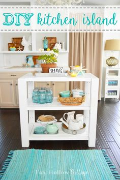 DIY Kitchen Island -