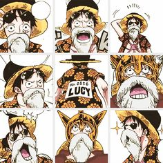 """Luffy (""""Lucy"""") - One Piece"""