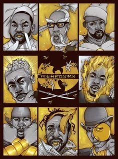 Wu Disciples: Wu-Art Thursday - SPECIAL EDITION - Chris B. Murray